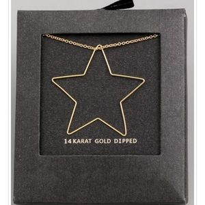 ⭐️14K Gold Dipped Star Necklace